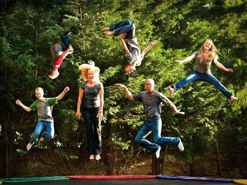 tappeto trampolino elastico