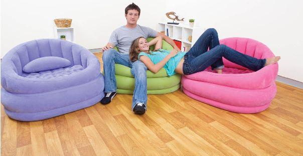 Poltrona letto gonfiabile