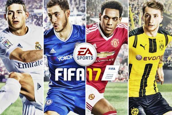 Preordine Fifa17 Videogioco
