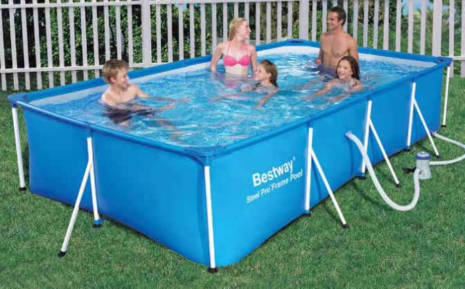 Le migliori piscine gonfiabili prezzi e offerte for Piscina fuori terra 4x8 prezzo