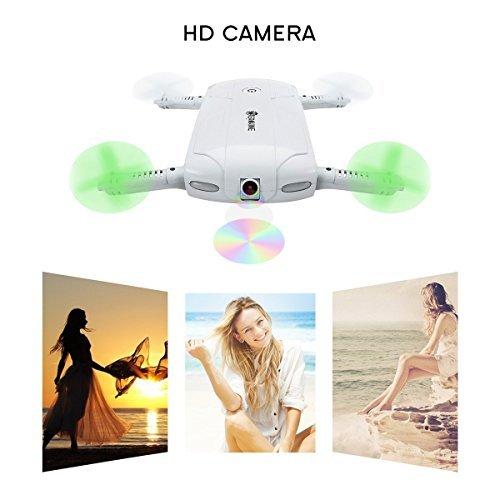 drone tascabile selfie