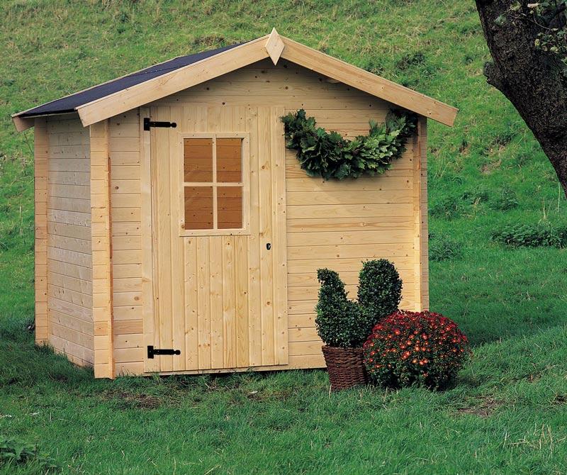 casetta legno offerta
