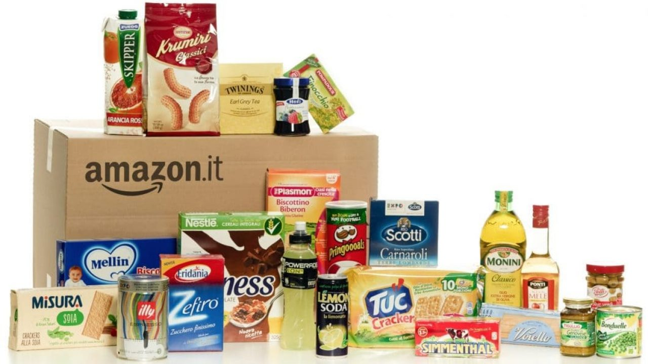 Come fare la spesa online con Amazon - Amazon Pantry e Prime Now